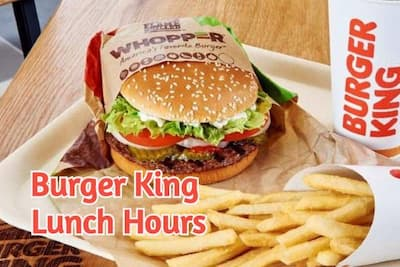 burger king lunch hours